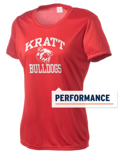 Kratt Elementary School Bulldogs Women's Competitor Performance T-Shirt