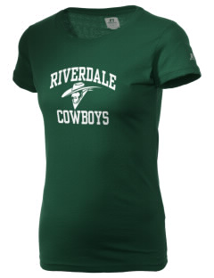 Riverdale High School Cowboys  Russell Women's Campus T-Shirt