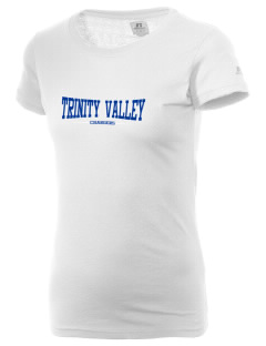 Trinity Valley Elementary School Chargers  Russell Women's Campus T-Shirt