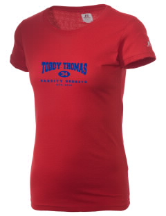 Toddy Thomas Elementary School Hornets  Russell Women's Campus T-Shirt