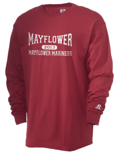 Mayflower Elementary School Mayflower Mariners  Russell Men's Long Sleeve T-Shirt