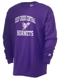Deep Creek Central Elementary School Hornets  Russell Men's Long Sleeve T-Shirt