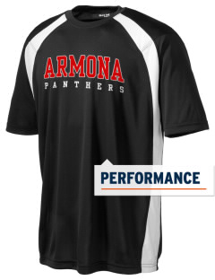 Armona Elementary School Panthers Men's Dry Zone Colorblock T-Shirt