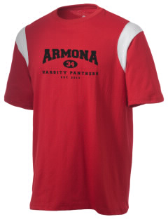 Armona Elementary School Panthers Holloway Men's Rush T-Shirt