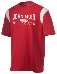 John Muir Middle School Wildcats Holloway Men's Rush T-Shirt