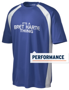 Bret Harte Elementary School Bears Men's Dry Zone Colorblock T-Shirt