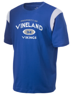 Vineland Elementary School Vikings Holloway Men's Rush T-Shirt