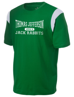 Thomas Jefferson Elementary School Jack Rabbits Holloway Men's Rush T-Shirt