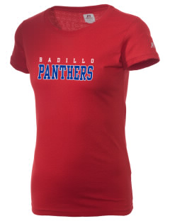Badillo Elementary School Panthers  Russell Women's Campus T-Shirt