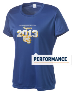 Jefferson Elementary School Tigers Women's Competitor Performance T-Shirt