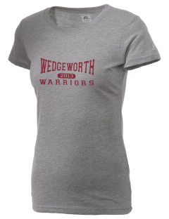 Wedgeworth Elementary School Warriors  Russell Women's Campus T-Shirt