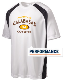 Calabasas High School Coyotes Men's Dry Zone Colorblock T-Shirt