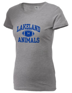 Lakeland Elementary School Animals  Russell Women's Campus T-Shirt