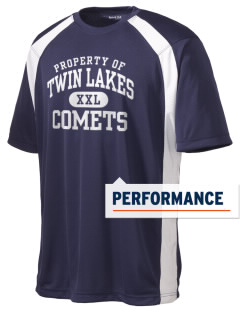 Twin Lakes Elementary School Comets Men's Dry Zone Colorblock T-Shirt