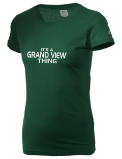 Grand View Elementary School Gators  Russell Women's Campus T-Shirt