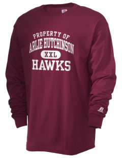 Arlie Hutchinson Middle School Hawks  Russell Men's Long Sleeve T-Shirt