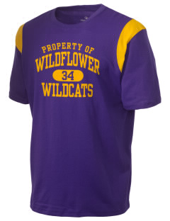 Wildflower Elementary School Wildcats Holloway Men's Rush T-Shirt