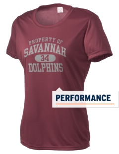 Savannah Elementary School Dolphins Women's Competitor Performance T-Shirt