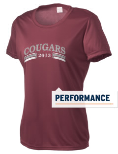 Coronado Continuation High School Cougars Women's Competitor Performance T-Shirt