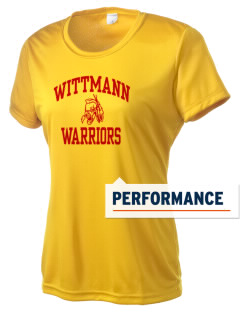 Wittmann Elementary School Warriors Women's Competitor Performance T-Shirt