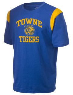 Towne Elementary School Tigers Holloway Men's Rush T-Shirt