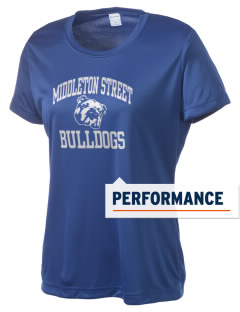 Middleton Street Elementary School Bulldogs Women's Competitor Performance T-Shirt