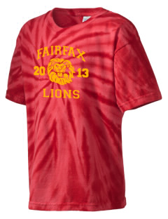 Fairfax High School Lions Kid's Tie-Dye T-Shirt