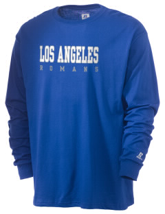Los Angeles High School Romans  Russell Men's Long Sleeve T-Shirt