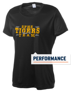 San Fernando High School Tigers Women's Competitor Performance T-Shirt