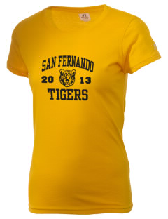 San Fernando High School Tigers  Russell Women's Campus T-Shirt