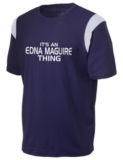 Edna Maguire Elementary School Horses Holloway Men's Rush T-Shirt