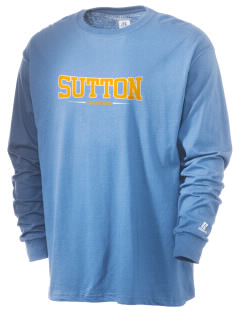 Sutton Elementary School Cheetahs  Russell Men's Long Sleeve T-Shirt