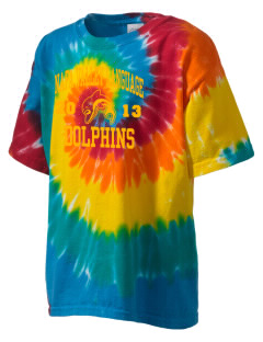 Napa Valley Language Center Dolphins Kid's Tie-Dye T-Shirt