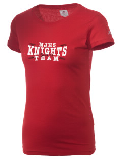Nicolas Junior High School Knights  Russell Women's Campus T-Shirt