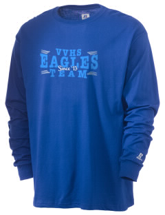 Valley Vista High School Eagles  Russell Men's Long Sleeve T-Shirt