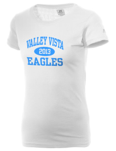 Valley Vista High School Eagles  Russell Women's Campus T-Shirt