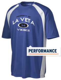 La Veta Elementary School Vikings Men's Dry Zone Colorblock T-Shirt