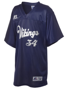 La Veta Elementary School Vikings Russell Kid's Replica Football Jersey