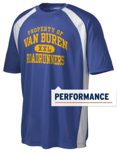 Van Buren Elementary School Roadrunners Men's Dry Zone Colorblock T-Shirt