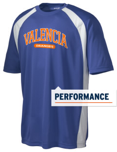 Valencia Elementary School Oranges Men's Dry Zone Colorblock T-Shirt