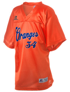 Valencia Elementary School Oranges Russell Kid's Replica Football Jersey