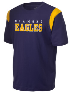 Diamond Elementary School Eagles Holloway Men's Rush T-Shirt