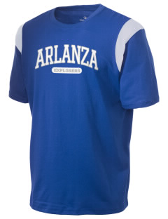Arlanza Elementary School Explorers Holloway Men's Rush T-Shirt