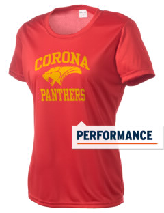 Corona High School Panthers Women's Competitor Performance T-Shirt