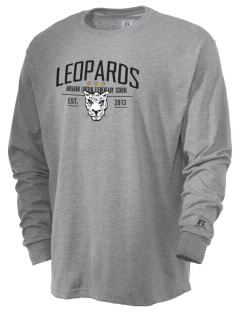Abraham Lincoln Elementary School Leopards  Russell Men's Long Sleeve T-Shirt