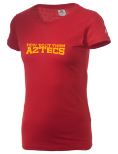 Palm Desert High School Aztecs  Russell Women's Campus T-Shirt