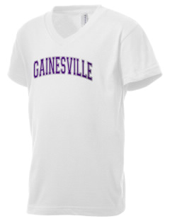 Gainesville High School Hurricanes Kid's V-Neck Jersey T-Shirt