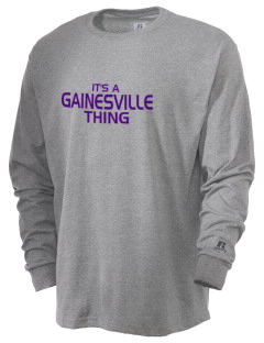 Gainesville High School Hurricanes  Russell Men's Long Sleeve T-Shirt
