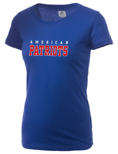 American High School Patriots  Russell Women's Campus T-Shirt