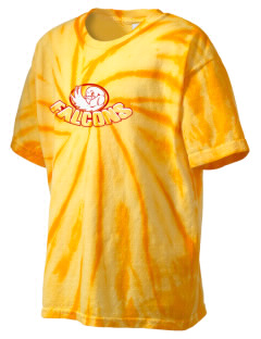 Leto Comprehensive High School Falcons Kid's Tie-Dye T-Shirt